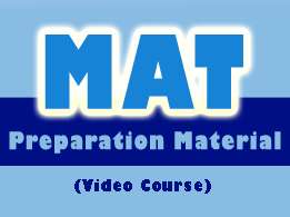Mat Preparation Material Video Lecture, Online Study Material